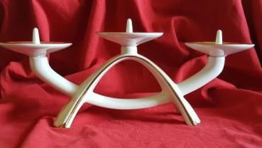 Vintage Porzellan Kerzenständer Alka Kunst