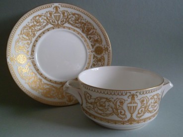 Royal Worcester HYDE PARK Suppentasse 1966
