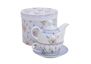 "Teekannen-Set Tea for one ""Lavendel"""